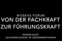 """Wissens-Forum """"Von der Fachkraft zur Führungskraft"""""""